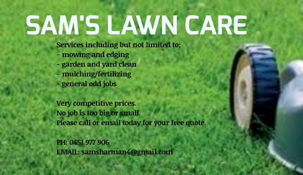 Affordable lawn mowing and edging