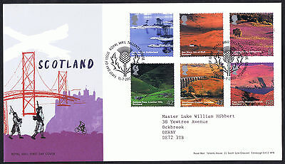 Scotland 2003 First Day Cover - SG2385 to SG2390 Tallents House Edinburgh Cancel