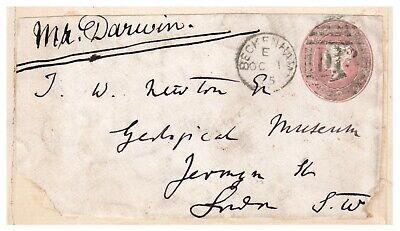 Envelope Hand-Addressed by Charles Darwin - Originator of Theory of Evolution