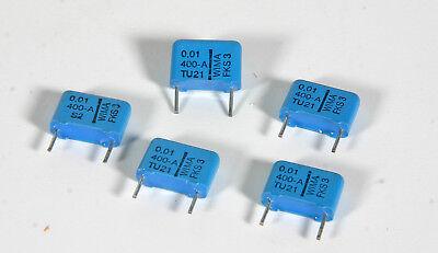Capacitor - Wima Fks-3z .01 Mfd 400 V - 10 Pcs