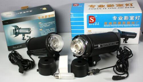 Lot of 2 Dison Digital Era-Flash Strobe Light AD-150 & AD-400