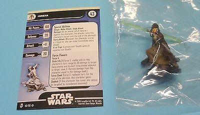 Star Wars Miniatures Knights Old Republic Kreia #45/60 NEW NIB SWM Minis