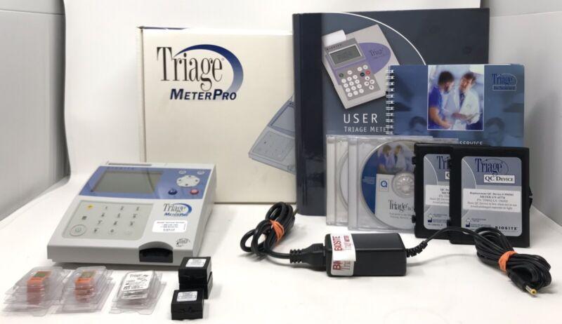 Biosite Triage MeterPro Chemical Blood Plasma Urine Analyzer Meter Pro