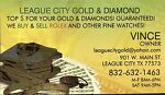 LEAGUE CITY GOLD & DIAMOND EXCHANGE