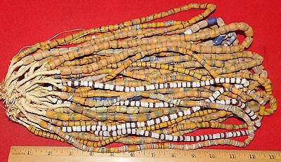 Bundle of (20) Strands of Sandcast Trade Beads #16....Buy It Now
