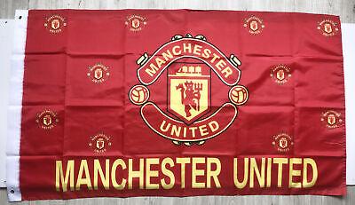 Manchester United 3X5FT Red Premier Football Soccer Flag Banner 2Grommets/322