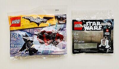 NEW LEGO 30522 BATMAN IN THE PHANTOM ZONE And Star Wars R3-M2 40268 Poly bag