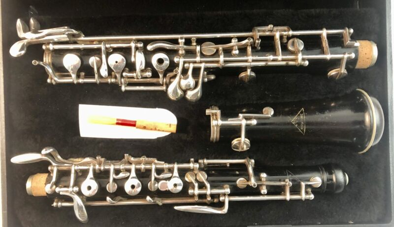 Mirafone Wood Oboe, Standard conservatory with low Bb And left F