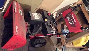 "Yard Machines MTD 24"" 8 HP snowblower/snowthrower"