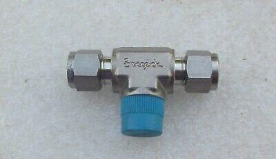 Swagelok 38 Stainless Steel Fitting Tee Ss-600-3-6ttm  New
