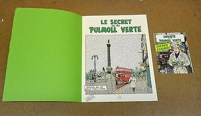 FLOC'H - LE SECRET DE LA PULMOLL VERTE - EO + DEPLIANT CONCOURS ( COMME NEUF )