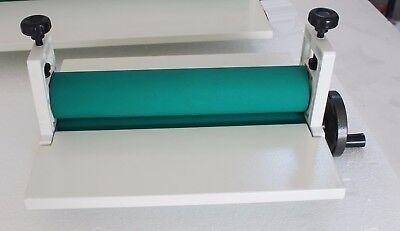 14in Manual Roll Laminating Machine Cold Laminator Professional Cold Press New