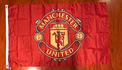 Manchester united flagebay 1 manchester united flag banner 3x5 ft england premier futbol soccer team fan voltagebd Image collections