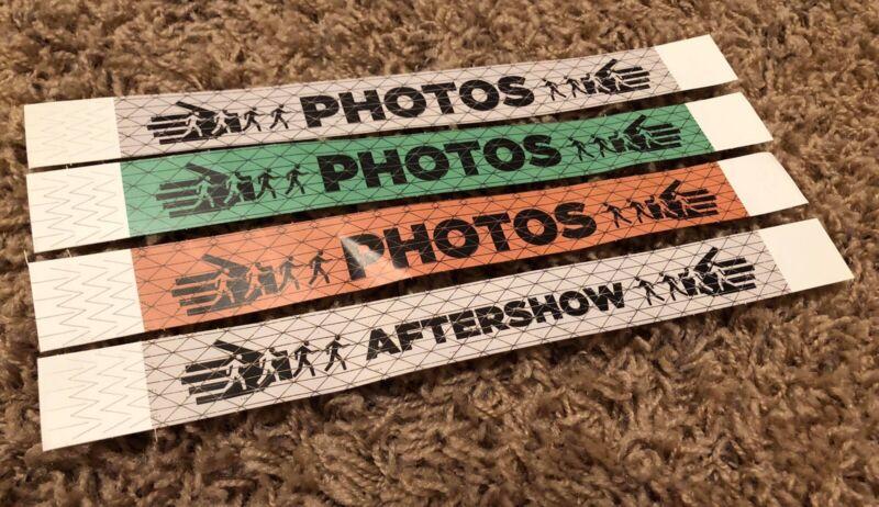 RACONTEURS Rare AAA WRISTBAND PASS SET - 2019 Tour THIRD MAN RECORDS Jack White