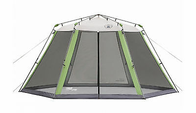 AKTION ! COLEMAN INSTANT SCREEN SHELTER 4,6 x 4m PARTYZELT PAVILLON
