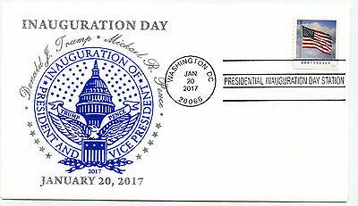 2017 Donald J Trump Panda Cachets, design 3, Capitol,  Inauguration Day Cover