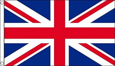 United Kingdom Union Jack 5'x3' HEAVY-DUTY NYLON Flag