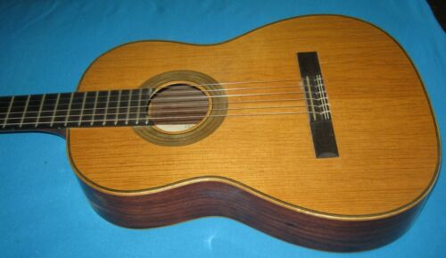 VINTAGE Karl Hauser Classical Guitar, West Germany, model 730,