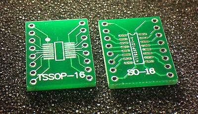 Sossoptssopsoic16 To Dip Adapter Pcb Board Converter Double Sides - 2pcs