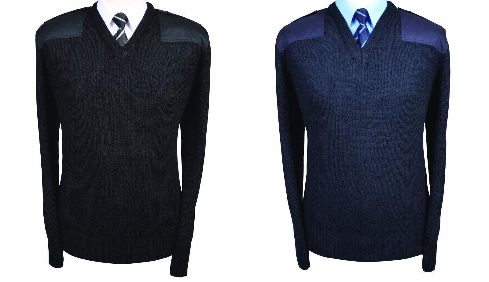 Yoko Mens V-Neck NATO Security Sweater//Workwear