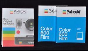 2 Packs Color Film für for Polaroid Kamera  Supercolor 635, 635CL, 636 close up