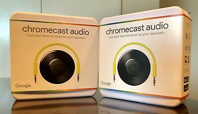Brand New Google Chromecast Audio, Wifi media player In-Hand And Ready To Ship