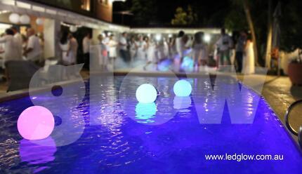Genuine Glow Waterproof Floating LED Sphere Balls
