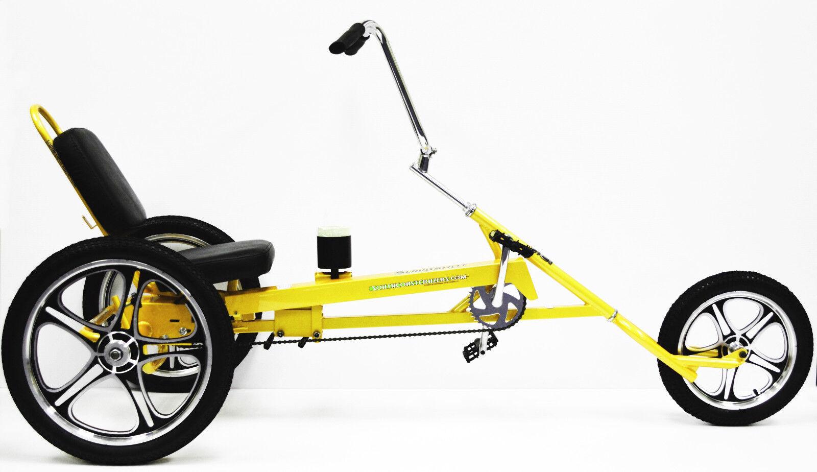 Recumbent Adult Three Wheel Trike