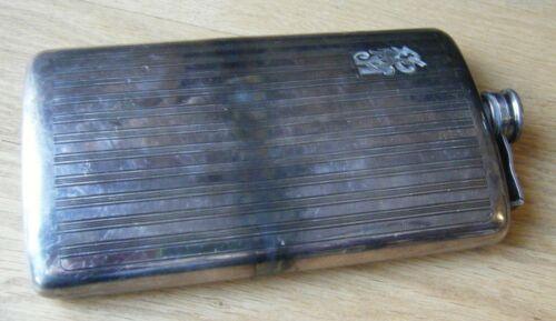 Vintage Meriden Britannia International Silver Plated Hip Flask 1322, 15 1/2 oz