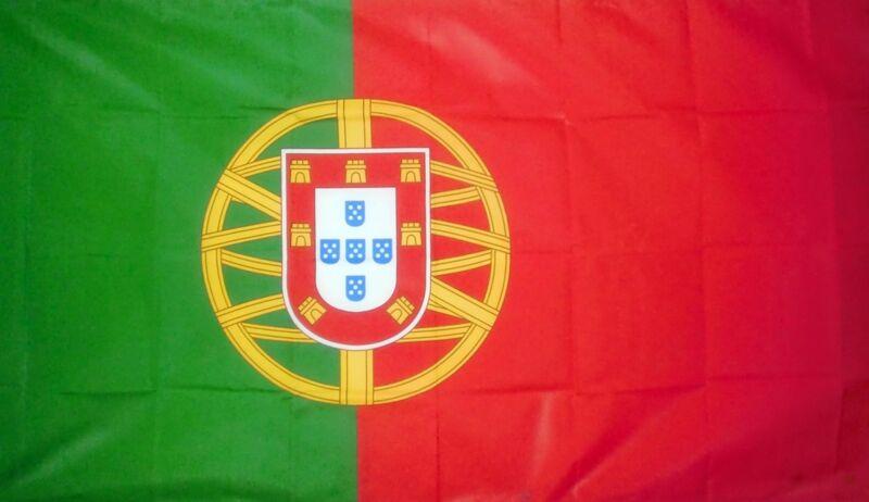 PORTUGAL LARGE FLAG 8 X 5 FEET flags Portuguese Porto