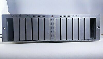 Apple A1009 XServe Raid Enclosure Array Storage w/ 5x 250GB HDD