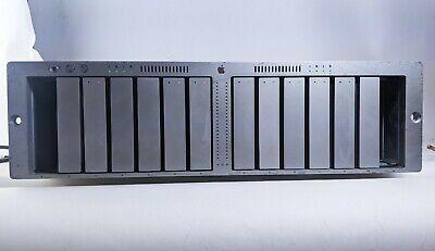 Apple A1009 XServe Raid Enclosure Array Storage w/ 5x 250GB HDD