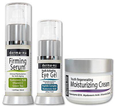 - Derma-NU Firming serum,eye gel and Anti Aging Skin Cream set