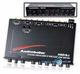 Audiobahn car graphic equalizer