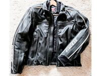 Dainese Leather Motorcycle Jacket never worn