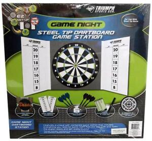 NEW TRIMUPH SPORT DART BOARD -- GREAT FAMILY FUN -- BECOME A PRO AND GET RICH  IN VEGAS!!