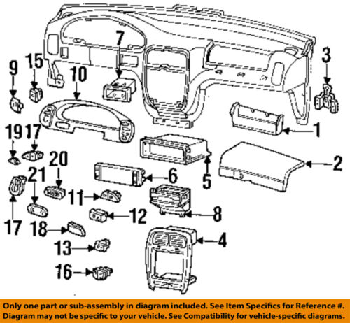 1994  Ford  Econoline  Instrument  Cluster