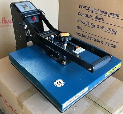 15 X 15 Digital Clamshell Sublimation Heat Press Transfer T Shirt Machine New