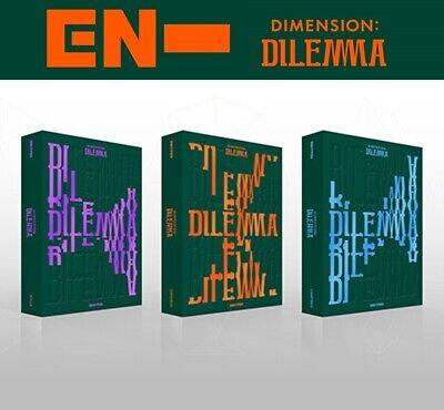 ENHYPEN Album [DIMENSION : DILEMMA] Random CD+P.Book+2p Card+M.Poster+Pre-Order
