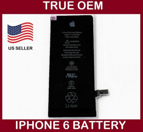 Original Genuine Apple iPhone 6 Battery Replacement For iPhone 6 1810mAh