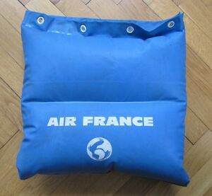 ancien sac air france coussin gonflable ebay. Black Bedroom Furniture Sets. Home Design Ideas