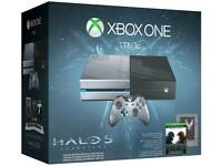 Limited edition Halo Xbox 1