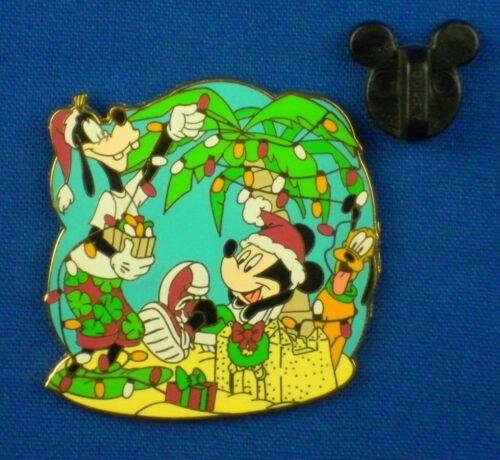 Goofy Mickey Mouse A Tropical Christmas Surprise LE 1000 OC Disney Pin # 35261