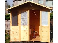 6ft x 8ft summerhouse/ garden lodge