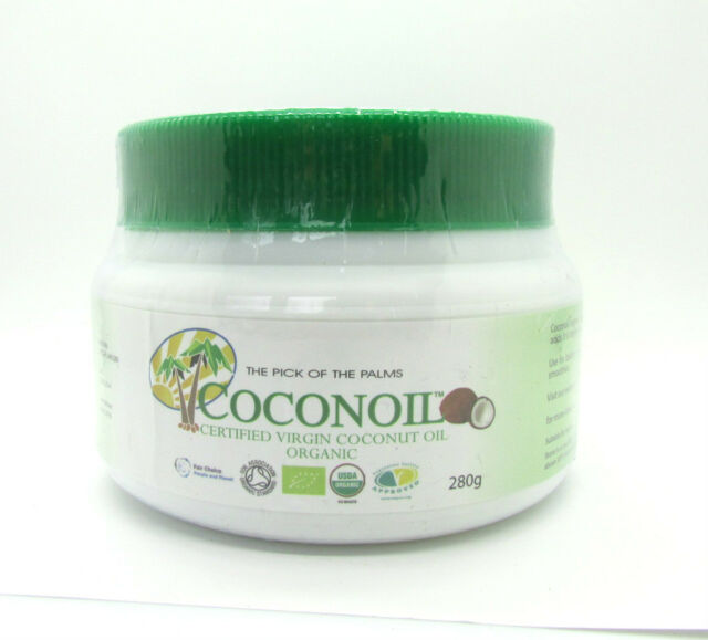 Coconoil Certified Virgin Coconut Oil  Cold Pressed 280g New