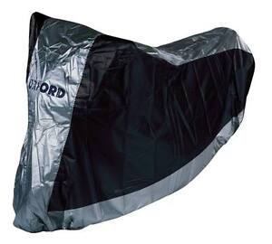 Oxford Aquatex Waterproof Motorcycle Motorbike Cover Large