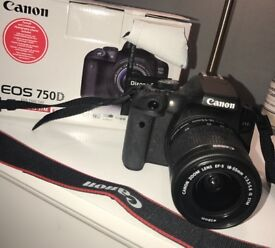 CANON EOS 750D DSLR IMMACULATE CONDITION