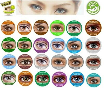 Color Cosmetic Lenses ** Lentilles de couleur ** 1 year ***** FRESHTONE*****