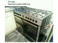 Beko duel fuel cooker
