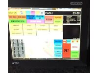 Epos for DRY Clean 12 Touchscreen EPOS System & Printer Till Draw Cash Register